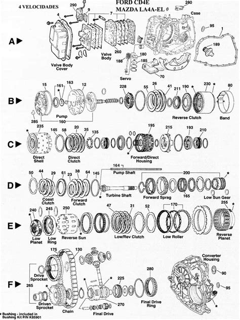 Cd4e Wiring Diagram by Ford Escape Transmission Imageresizertool