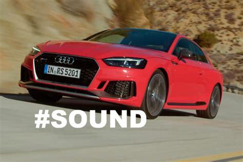Amg Gla 35 2020 Motor Ausstattung by Audi Rs 5 Coup 233 Sound 2017 Autobild De