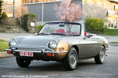 Fiat 850 For Sale by 1971 Fiat 850 Spider For Sale