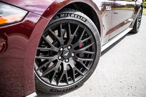 Michelin Pilot Sport Mustang Gt by Exhaust Notes 2018 Ford Mustang Gt Convertible Car