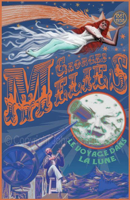 george melies poster hugo georges melies fantasy voyage to the moon 11 x 17 art
