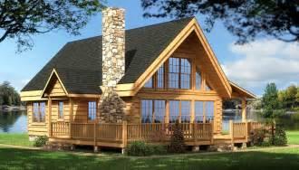 Cabin House Plans Log Cabin House Plans Rockbridge Log Home Cabin Plans Back Deck And Place For Deck