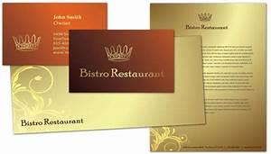 restaurant letterhead templates free - letterhead template for bistro restaurant menu order