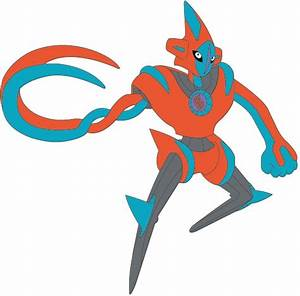 Pokemon Mega Deoxys Coloring Pages Images | Pokemon Images