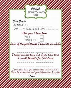 Santa naughty list certificates coordinating santa39s for Nice list santa letter