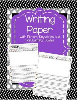 writing paper  phonics keywords  handwriting guides  angela doty
