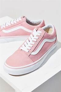 Vans Pink Old Skool Sneaker   Sko