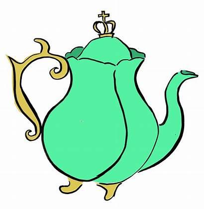 Clipart Teapot Afternoon Tea Cartoon Teapots Clipartmag