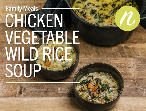 lunds byerlys herbed chicken vegetable wild rice soup