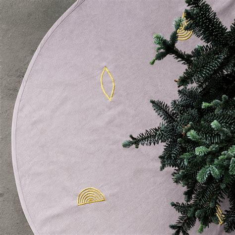 christmas tree blanket 216 120 cm by ferm living connox