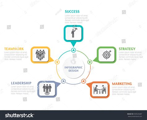 Abstract Infographic Number Options Business Overview Stock Vector 593529287 Flow Chart Of Ghee Production For Biscuit Centralized Purchasing Flowchart Iron Friction Material De Produksi Roti Quality Control