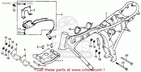 honda xr100 1983 d usa frame ignition coil schematic