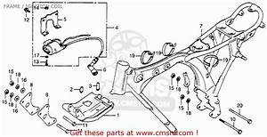 Honda Xr100 1983  D  Usa Frame    Ignition Coil