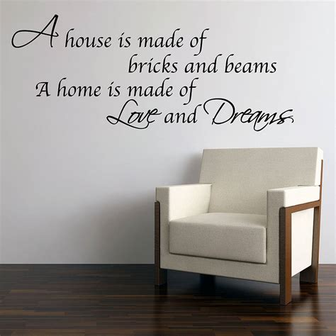 love  dreams home wall stickers  parkins interiors