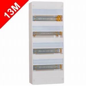 Tableau Electrique 4 Rangées : legrand drivia tableau lectrique 13 modules nu 4 rang es ~ Dailycaller-alerts.com Idées de Décoration