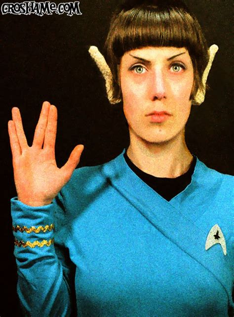 finally crocheted vulcan ears  cover  lame human