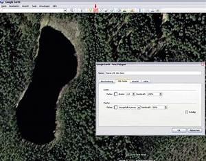 Luftlinie Berechnen Google Earth : fl chenberechnung eines sees mit hilfe von google earth ge path ~ Themetempest.com Abrechnung