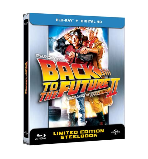 Back To The Future Part 2 (Blu-ray SteelBook) [Netherlands ...