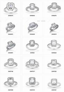 so many different types halo emerald engagement rings With kinds of wedding rings
