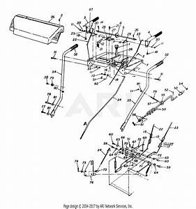 Mtd 316e980i000  1996  Parts Diagram For Handle  Control