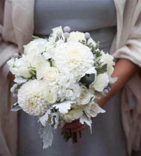 wedding bouquets  dahlias  white bouquet wedding