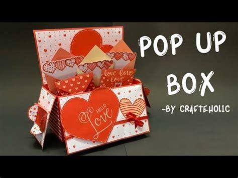 pop  card birthday card diy explosion box