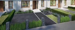 Vorgarten Stellplatz Gestalten : vorgarten bauen gestalten obi gartenplaner ~ Markanthonyermac.com Haus und Dekorationen