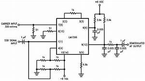 Lm1596 Single Sideband  Ssb  Suppressed Carrier Demodulator Circuit