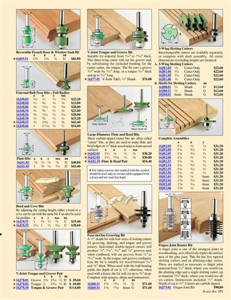 woodworking tool catalogs images frompo