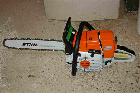 stihl ms 192 t gasoline chainsaw review