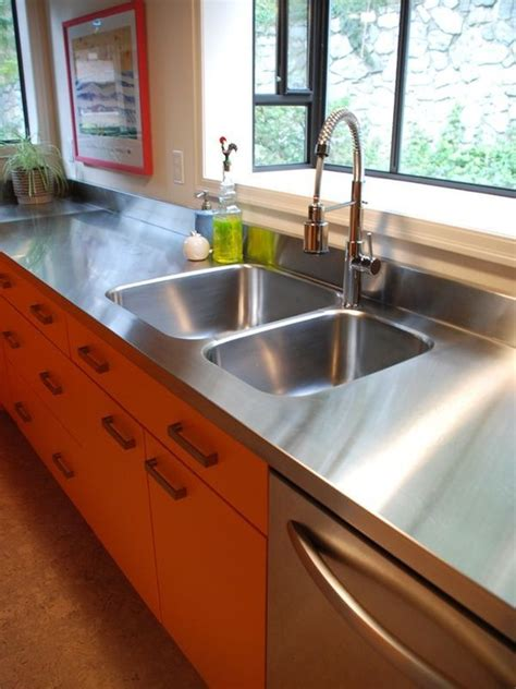 stainless steel countertops    choice