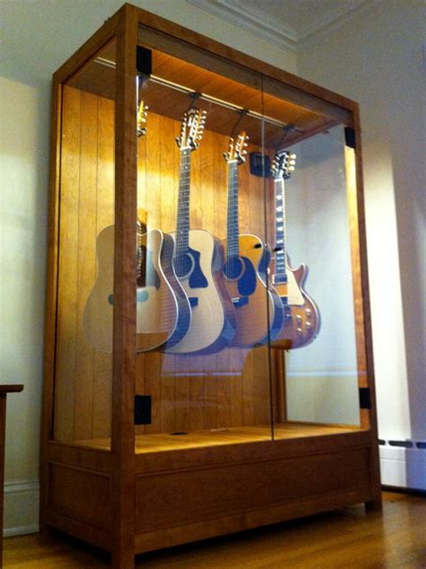 Humidified Guitar Cabinet   Contemporary   new york   by