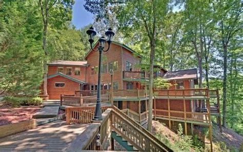 luxury  sq ft log cabin estate  bear lake  sale  blue ridge georgia classified