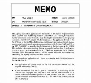 internal memo templates 16 free word pdf documents With internal office memo template