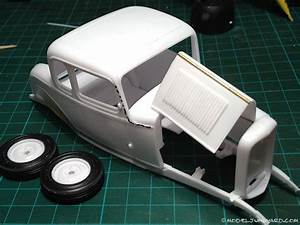 32 Ford 1/25 Scale – How to make hood hinges