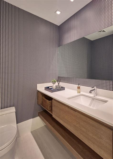 Modern Bathroom Wallpaper by 15 Modern Wallpapers For Contemporary Decorators