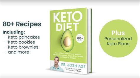 keto diet   book  dr josh axe  february