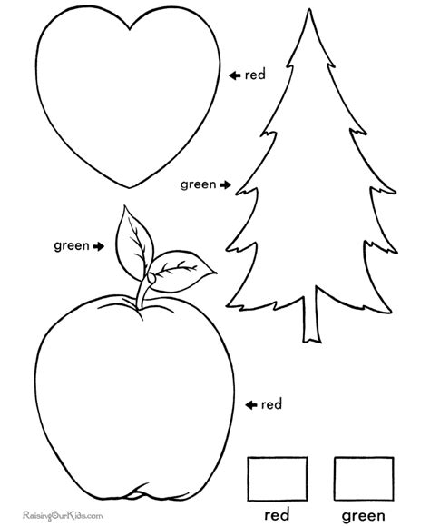learning colors worksheets learning colors worksheets for toddlers 003