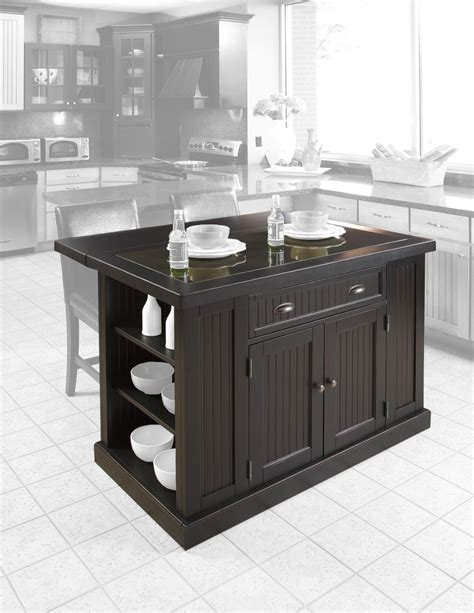 Nantucket Kitchen Island Distressed Finish Ojcommerce