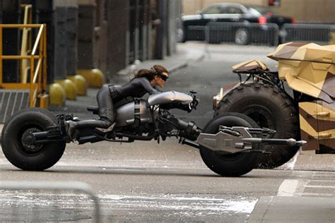 Dark Knight Rises Batpod motorcycle   Return of the Cafe