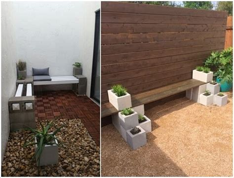 amazing outdoor cinder block projects
