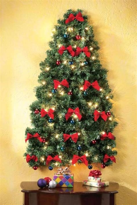 60 wall christmas tree alternative christmas tree ideas