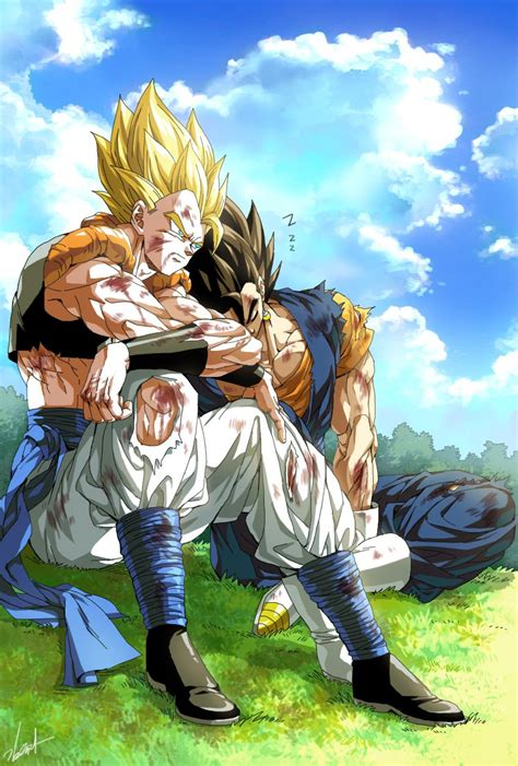 Tags Anime Pixiv Id 9040790 Z Tags Fanart Vegeta Goku