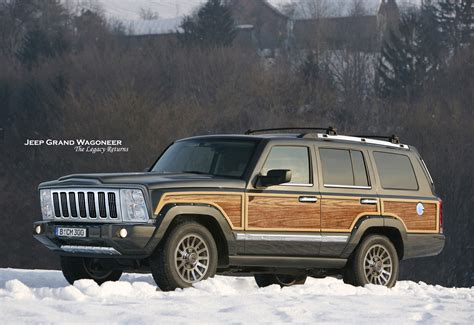 jeep set new jeep grand wagoneer launch date set for 2018 to get