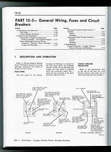 1965 Mustang Fuse Panel    Fuse Box Diagram