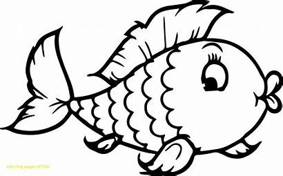 Fish Coloring Puffer Printable Pages Getcolorings Colorings