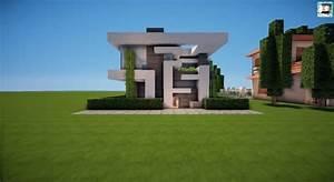 13×13 Modern House | Tutorial – Minecraft Building Inc