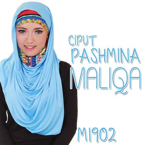 hijab ciput pashmina maliqa hijab style