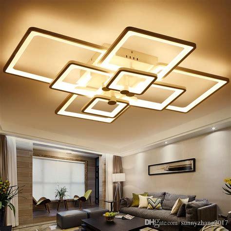 Design Deckenleuchten Wohnzimmer by 2019 Led Light Modern Led Ceiling Lights 110v 220v For