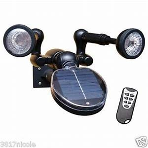Sunforce solar powered security led light remote control for Outdoor security lighting remote controlled